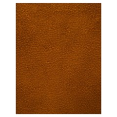 Brown Leather Drawstring Bag (large)