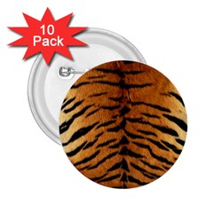 TIGER FUR 2.25  Buttons (10 pack)