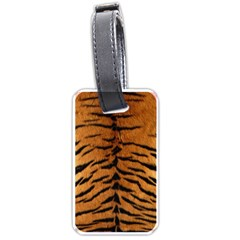 TIGER FUR Luggage Tags (Two Sides)