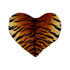 TIGER FUR Standard 16  Premium Heart Shape Cushions