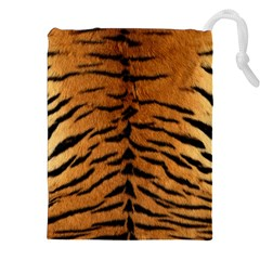 Tiger Fur Drawstring Pouches (xxl)