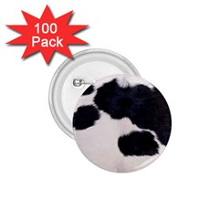 SPOTTED COW HIDE 1.75  Buttons (100 pack)