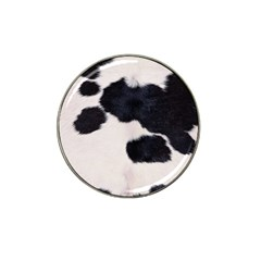 SPOTTED COW HIDE Hat Clip Ball Marker (10 pack)