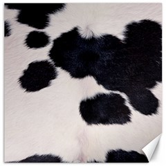 SPOTTED COW HIDE Canvas 20  x 20