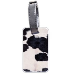 SPOTTED COW HIDE Luggage Tags (Two Sides)