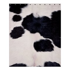 SPOTTED COW HIDE Shower Curtain 60  x 72  (Medium)