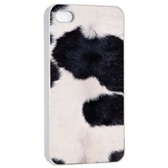 SPOTTED COW HIDE Apple iPhone 4/4s Seamless Case (White)