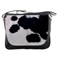 SPOTTED COW HIDE Messenger Bags