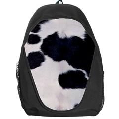 SPOTTED COW HIDE Backpack Bag