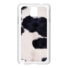 SPOTTED COW HIDE Samsung Galaxy Note 3 N9005 Case (White)