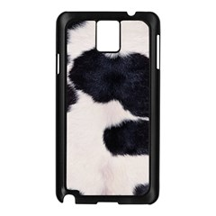 SPOTTED COW HIDE Samsung Galaxy Note 3 N9005 Case (Black)