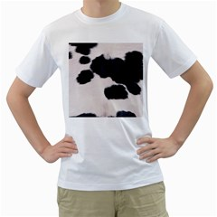 SPOTTED COW HIDE Men s T-Shirt (White)