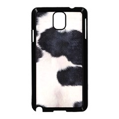 SPOTTED COW HIDE Samsung Galaxy Note 3 Neo Hardshell Case (Black)
