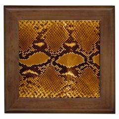 SNAKE SKIN Framed Tiles