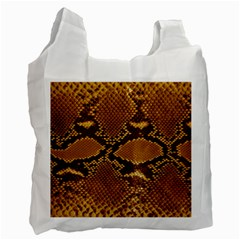 SNAKE SKIN Recycle Bag (Two Side)