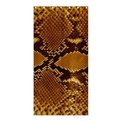 SNAKE SKIN Shower Curtain 36  x 72  (Stall)