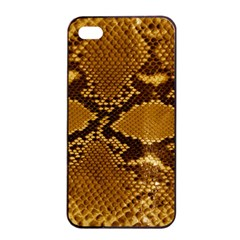 SNAKE SKIN Apple iPhone 4/4s Seamless Case (Black)