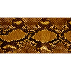 Snake Skin You Are Invited 3d Greeting Card (8x4)