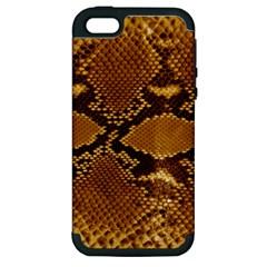 SNAKE SKIN Apple iPhone 5 Hardshell Case (PC+Silicone)