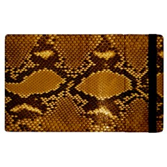 SNAKE SKIN Apple iPad 3/4 Flip Case