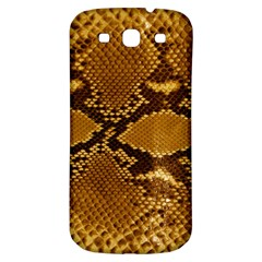 SNAKE SKIN Samsung Galaxy S3 S III Classic Hardshell Back Case