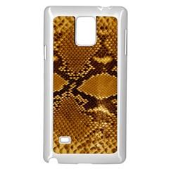 SNAKE SKIN Samsung Galaxy Note 4 Case (White)