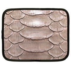 Scaly Leather Netbook Case (xxl)