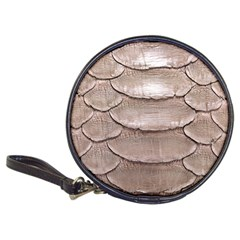 SCALY LEATHER Classic 20-CD Wallets