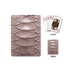 SCALY LEATHER Playing Cards (Mini)