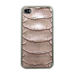 SCALY LEATHER Apple iPhone 4 Case (Clear)