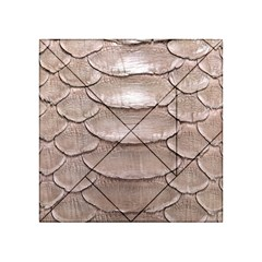 Scaly Leather Acrylic Tangram Puzzle (4  X 4 )