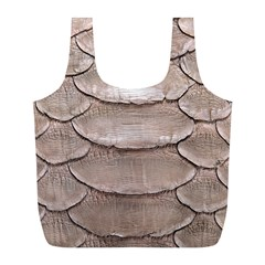 SCALY LEATHER Full Print Recycle Bags (L)