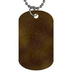REPTILE SKIN Dog Tag (One Side)