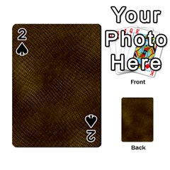 Reptile Skin Playing Cards 54 Designs