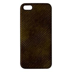 REPTILE SKIN Apple iPhone 5 Premium Hardshell Case
