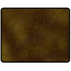 REPTILE SKIN Double Sided Fleece Blanket (Medium)