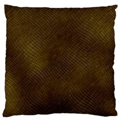 REPTILE SKIN Large Flano Cushion Cases (Two Sides)