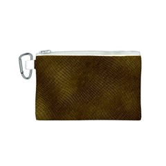 REPTILE SKIN Canvas Cosmetic Bag (S)