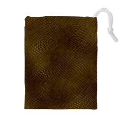 REPTILE SKIN Drawstring Pouches (Extra Large)