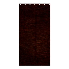 REDDISH BROWN FUR Shower Curtain 36  x 72  (Stall)