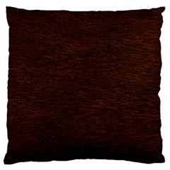 REDDISH BROWN FUR Large Cushion Cases (One Side)