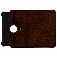 REDDISH BROWN FUR Kindle Fire HD Flip 360 Case