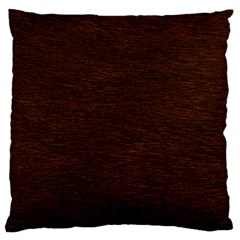REDDISH BROWN FUR Large Flano Cushion Cases (Two Sides)