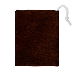 REDDISH BROWN FUR Drawstring Pouches (Extra Large)