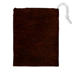 REDDISH BROWN FUR Drawstring Pouches (XXL)