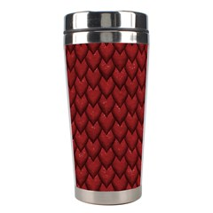 RED REPTILE SKIN Stainless Steel Travel Tumblers