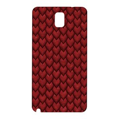 RED REPTILE SKIN Samsung Galaxy Note 3 N9005 Hardshell Back Case