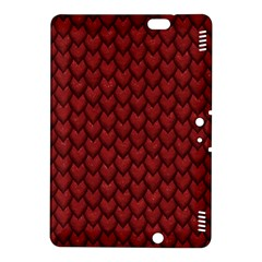 RED REPTILE SKIN Kindle Fire HDX 8.9  Hardshell Case