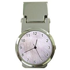 RABBIT FUR Money Clip Watches