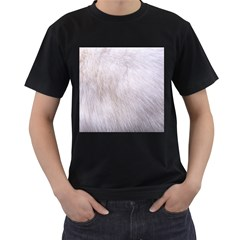 RABBIT FUR Men s T-Shirt (Black)